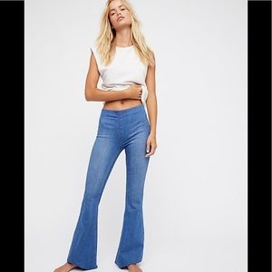 Free People Penny flare jeans Echo wash 31 New